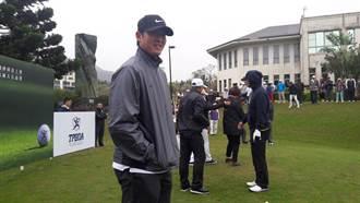 王建民打高爾夫  最佳成績87桿