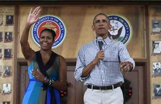 民調:美國最欣賞的男人仍是歐巴馬 川普居次