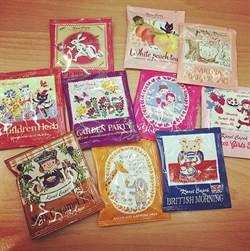每一包都是不同故事!逼瘋蒐集控的夢幻童話手繪茶包