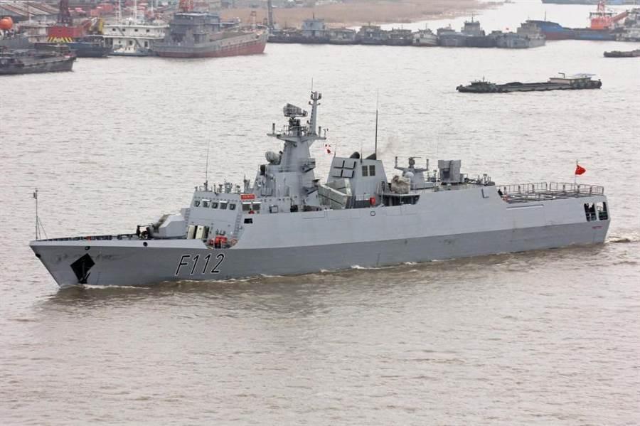 孟加拉海軍的決心號056型護衛艦。(孟加拉海軍)