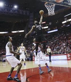 NBA》史上第一人 哈登53分17助攻16籃板