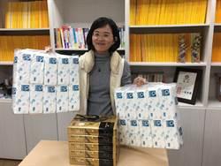 年末交換禮物 助理送蘇巧慧5包影印紙