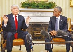 歐、川扞格 美猶如兩個總統當家