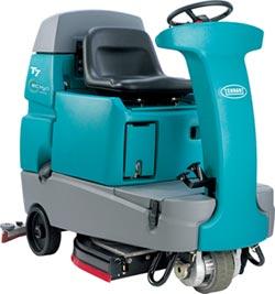 傑融引進 美國Tennant駕駛式環保洗地機