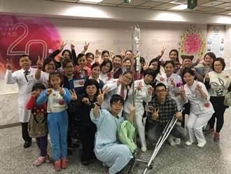 光田大甲分院20歲  假人挑戰贈醫藥箱