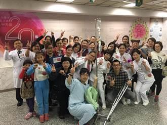 光田醫院大玩假人挑戰 40人體驗「木頭人」