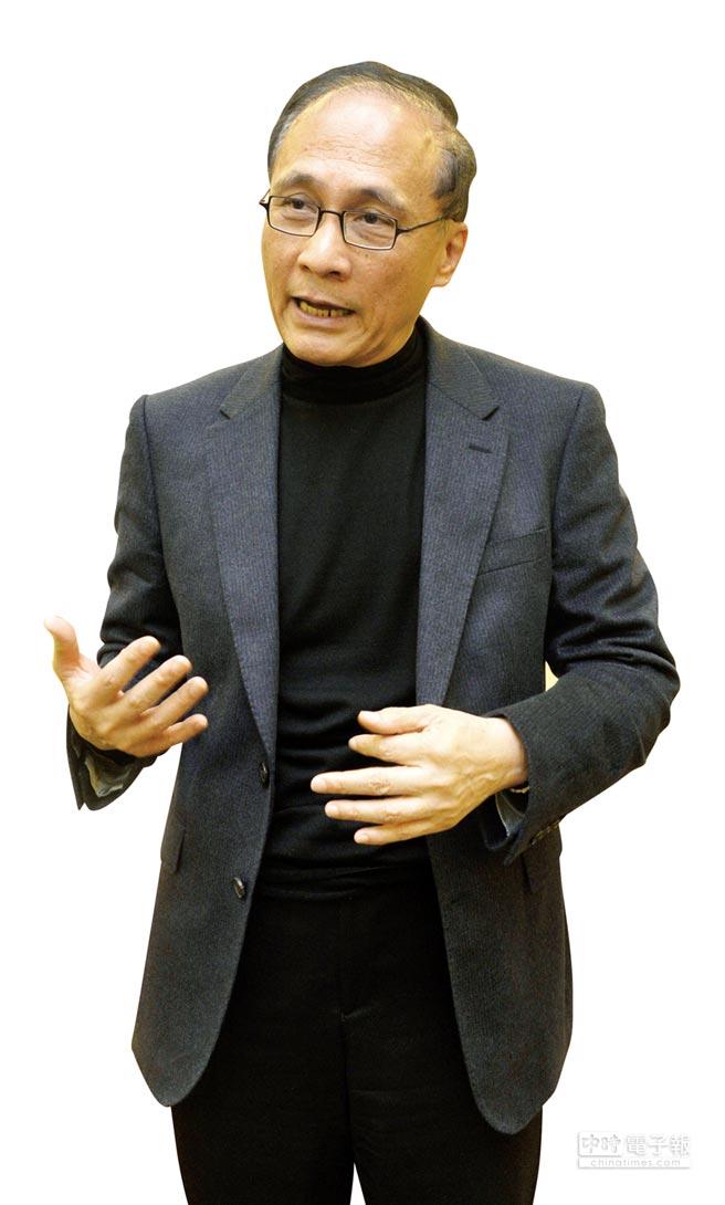 行政院院長林全接受專訪,針對各項政策進行說明。圖/顏謙隆