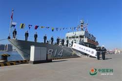 中共第五艘082II掃雷艇入列