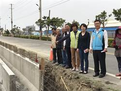 線西鄉農田排水溝改造善工程動工