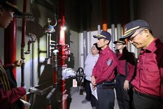 農曆春節將至  警消安檢消防設備