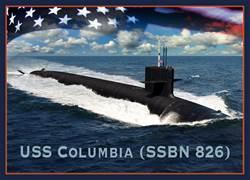 花4兆 美將買12艘哥倫比亞級核武潛艇