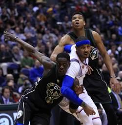 NBA》安森尼說到做到 尼克逆襲公鹿止敗