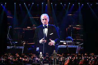 卡列拉斯告別演唱會 高亢深情揮別樂迷