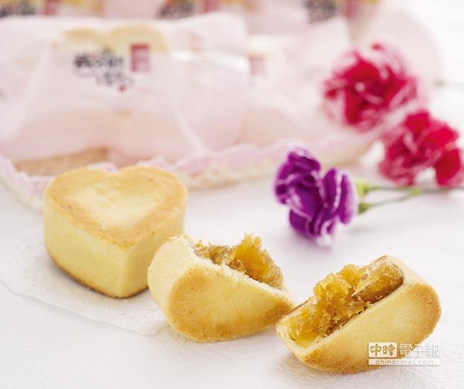 唯豐肉鬆推出特殊風味的「金鑽土鳳梨酥」。圖/業者提供