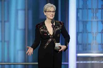 梅莉史翠普六分鐘金球獎演說痛擊川普