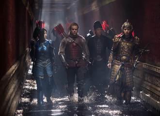 《長城》破九千四百萬票房  登雙周冠軍
