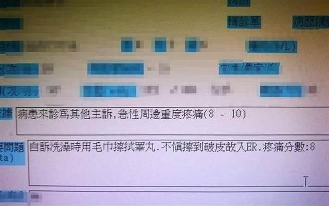 台北慈濟醫院前整型外科醫師王樹偉在臉書貼出疑為病患急診紀緣,引發爭議。(翻攝臉書)