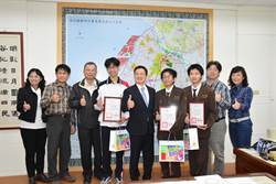 奧林匹亞競賽 精誠中學3生奪三金獲彰縣府表揚
