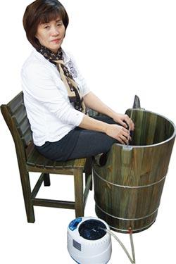 國寶級玉檀香木蒸腳桶 抗寒養生