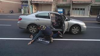 龍潭警防搶演練 過程逼真