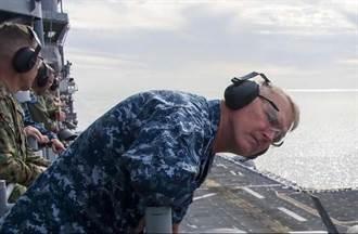 美軍中將:中國軍艦不堪一擊