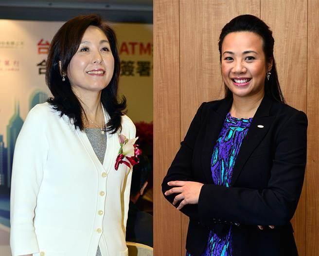 傳新光金總經理李紀珠(左)、新光金大公主吳欣盈(右)在公司互動極少。(本報系資料照)
