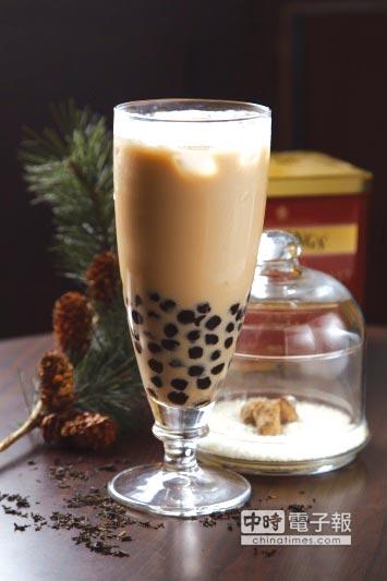 松露珍珠奶茶。圖/業者提供