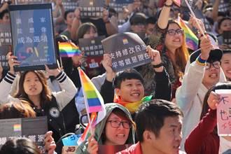婚姻平權行動再起 正反雙方備戰年關
