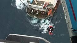 巴拿馬貨輪高雄港外海傾斜 13印尼籍船員獲救