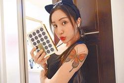 187INC刺青30處當護身 NANA手紋「坦誠」警惕別說謊