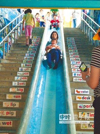 全民瘋溜滑梯》新北3D海底溜滑梯 紅到國外