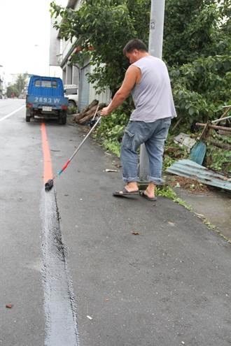 玉里火車站周邊畫紅線遭質疑 鎮公所進行塗銷