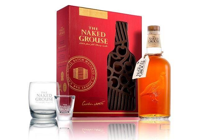 裸雀初次雪莉桶威士忌  2017春節鏤空典藏禮盒。(圖/台灣愛丁頓寰盛洋酒 提供)