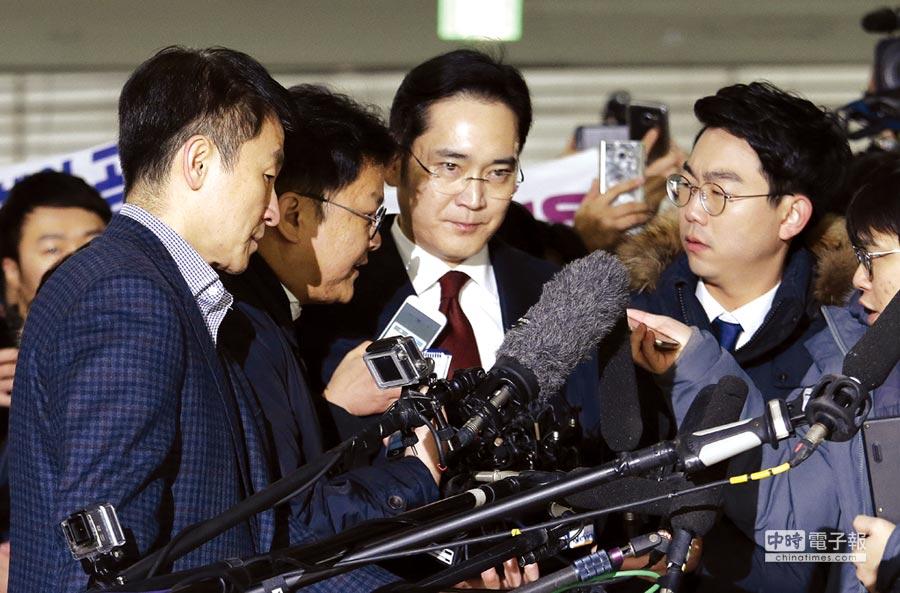 三星李在鎔 韓檢申請逮捕
