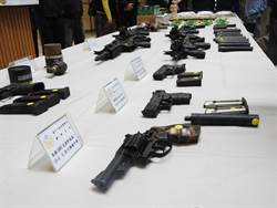 查緝槍毒集團  台中警方破獲行動軍火庫