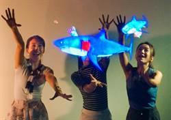 宜蘭新鮮玩 全球首創3D懸浮水族箱登場