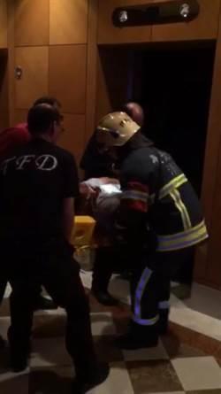 國賓飯店恐怖電梯 男子2樓墜B1命危