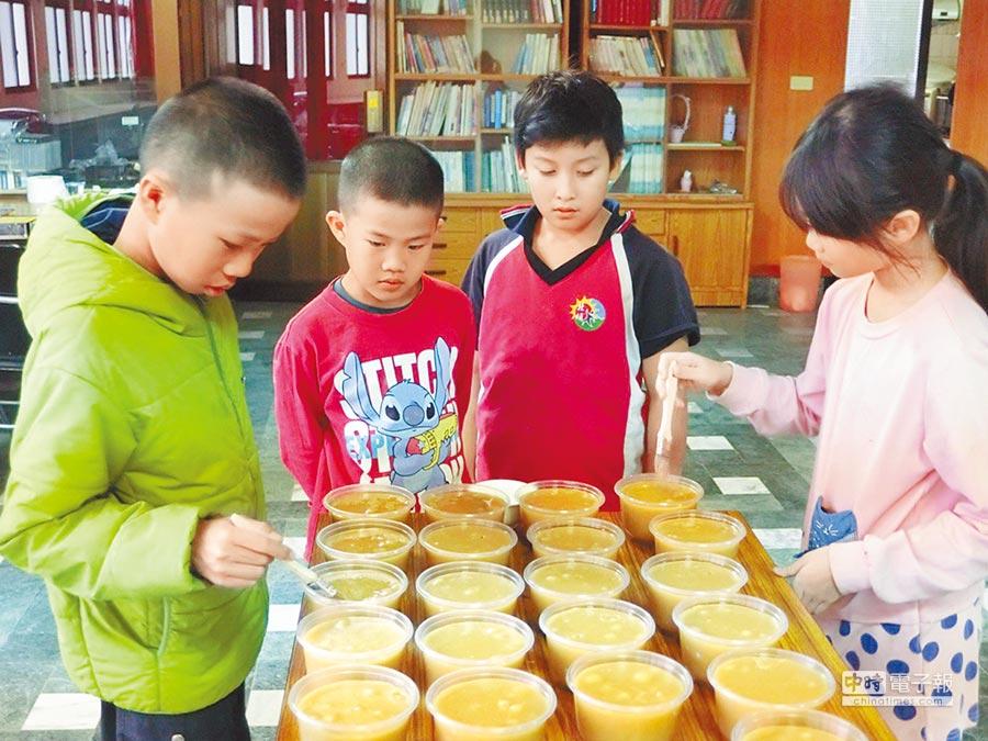 地瓜製年糕 傳統美食變身(新秀農會提供)