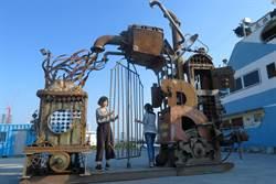 鋼雕藝術節 「嬉型鋼」駁二特區亮相