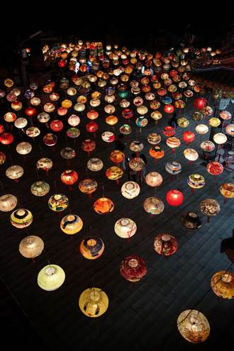 普濟殿試燈 1500盞燈海打造全台最大自辦燈會