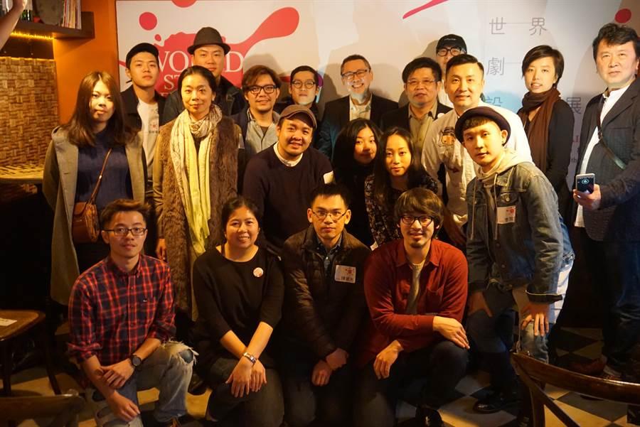 世界剧场设计展首度由台湾担任主办国,图为2017入选台湾设计师。(李欣恬摄)