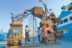 鋼雕藝術節 7件嬉型鋼作品完工