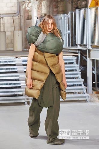 巴黎時裝周-Rick Owens 睡袋穿出流浪風