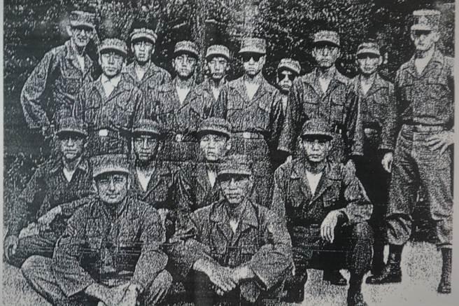 高文俊先生服務的8240部隊,即聯合國韓國游擊部隊。(高文俊提供)