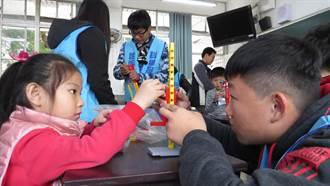 二林工商科學服務團犧牲寒假 帶偏鄉孩子探索科學