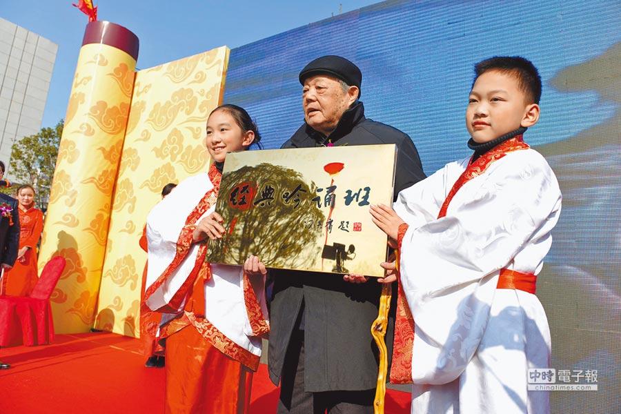 2012年,馮其庸學術館在馮老先生的家鄉無錫惠山前洲鎮正式開館。(中新社)