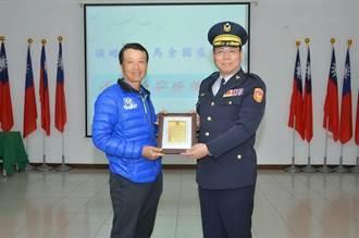中市民間業者捐贈蒐證器材 助警維護治安