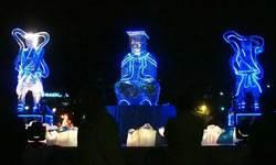 岡山燈會迎雞年 螺絲媽祖特色花燈最大亮點