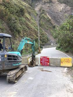 尖石鄉竹60線秀巒路段部分封閉 往後山走原路
