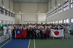 日本擊劍青少女銳劍國家隊首次蒞高 移訓左營高中